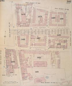 Insurance Plan of London Vol. XI: sheet 345